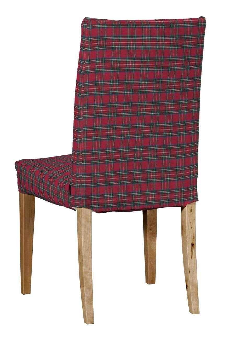 Návlek na stoličku Henriksdal (krátky) V kolekcii Bristol, tkanina: 126-29