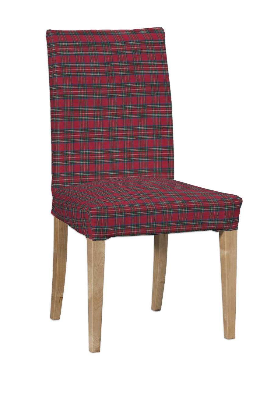 Sukienka na krzesło Henriksdal krótka krzesło Henriksdal w kolekcji Bristol, tkanina: 126-29