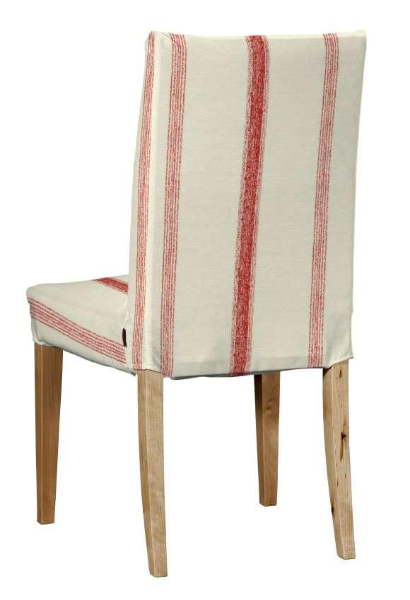 Henriksdal stol - kort klädsel Överdrag till Henriksdal stol - kort klädsel i kollektionen Avinon, Tyg: 129-15