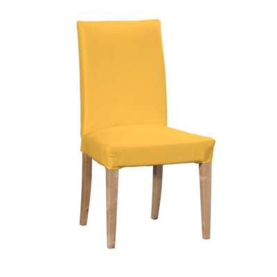Henriksdal chair cover 133-40 sunny yellow Collection Loneta