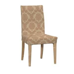 Sukienka na krzesło Henriksdal krótka krzesło Henriksdal w kolekcji Damasco, tkanina: 613-04
