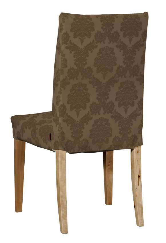 Sukienka na krzesło Henriksdal krótka krzesło Henriksdal w kolekcji Damasco, tkanina: 613-88