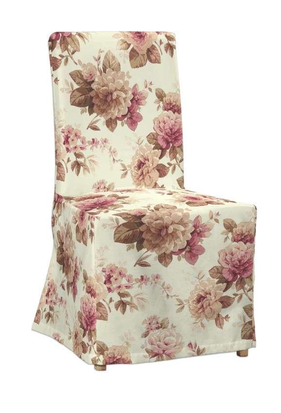 Sukienka na krzesło Henriksdal długa krzesło Henriksdal w kolekcji Mirella, tkanina: 141-06