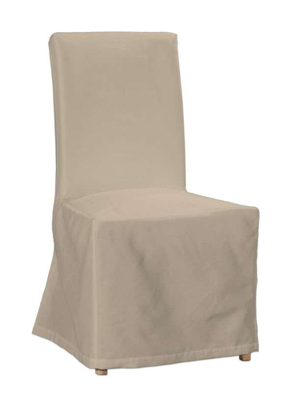 Henriksdal kėdės užvalkalas - ilgas Henriksdal kėdė kolekcijoje Cotton Panama, audinys: 702-01