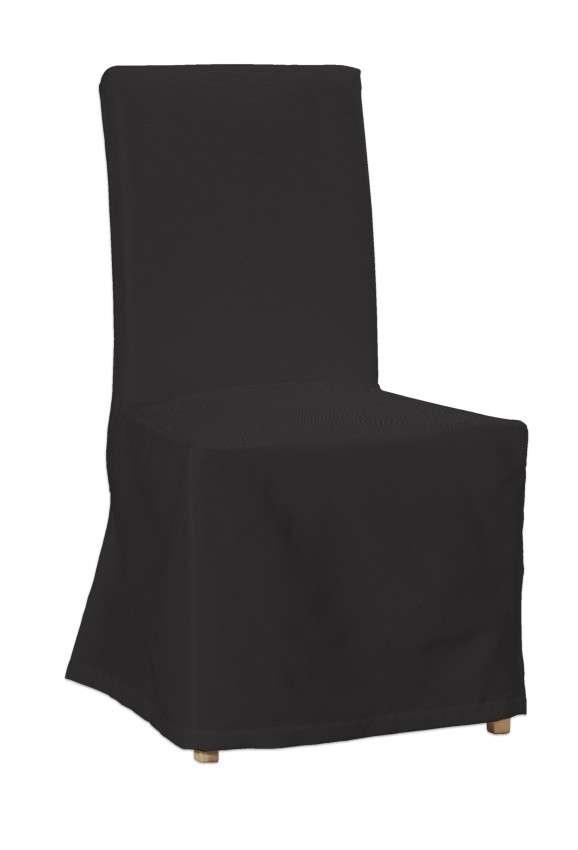 Henriksdal kėdės užvalkalas - ilgas Henriksdal kėdė kolekcijoje Cotton Panama, audinys: 702-08