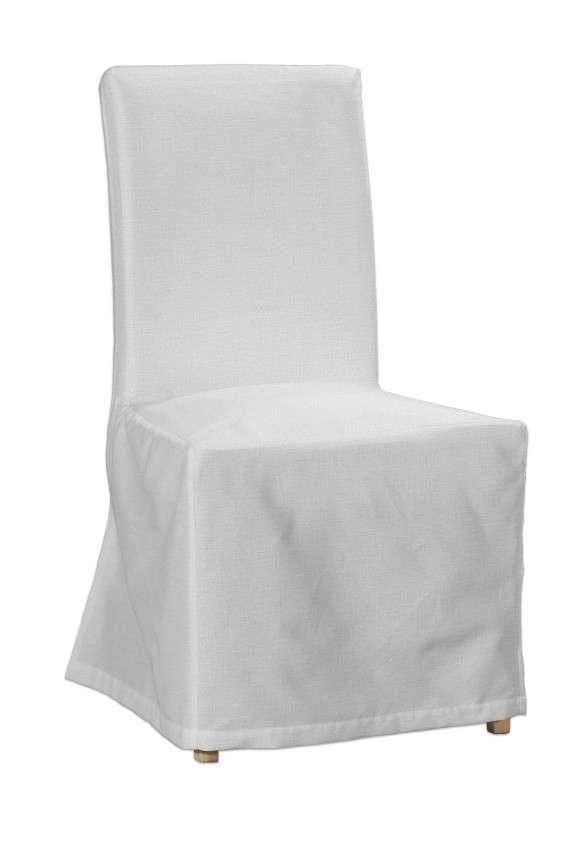 Sukienka na krzesło Henriksdal długa krzesło Henriksdal w kolekcji Linen, tkanina: 392-04