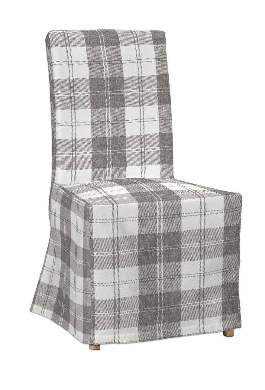 Sukienka na krzesło Henriksdal długa krzesło Henriksdal w kolekcji Edinburgh, tkanina: 115-79
