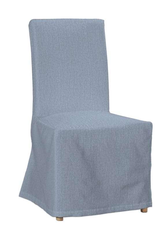 Sukienka na krzesło Henriksdal długa krzesło Henriksdal w kolekcji Chenille, tkanina: 702-13