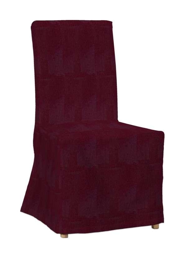 Sukienka na krzesło Henriksdal długa krzesło Henriksdal w kolekcji Chenille, tkanina: 702-19