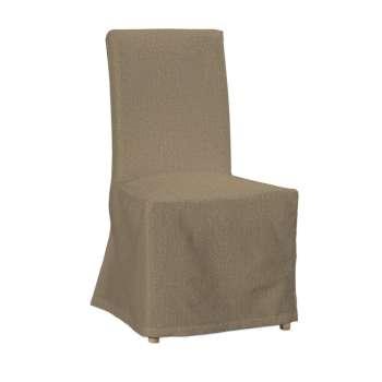 Sukienka na krzesło Henriksdal długa krzesło Henriksdal w kolekcji Chenille, tkanina: 702-21