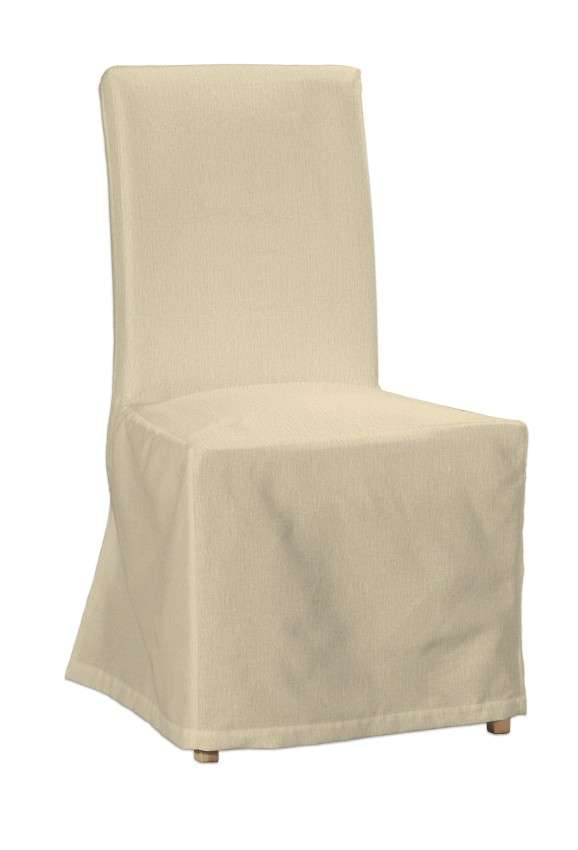 Sukienka na krzesło Henriksdal długa krzesło Henriksdal w kolekcji Chenille, tkanina: 702-22