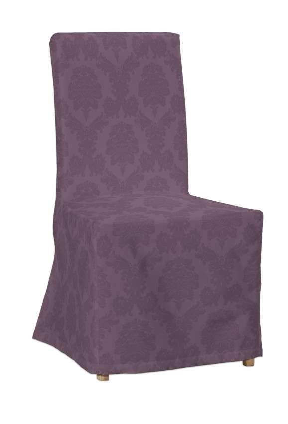 Sukienka na krzesło Henriksdal długa krzesło Henriksdal w kolekcji Damasco, tkanina: 613-75