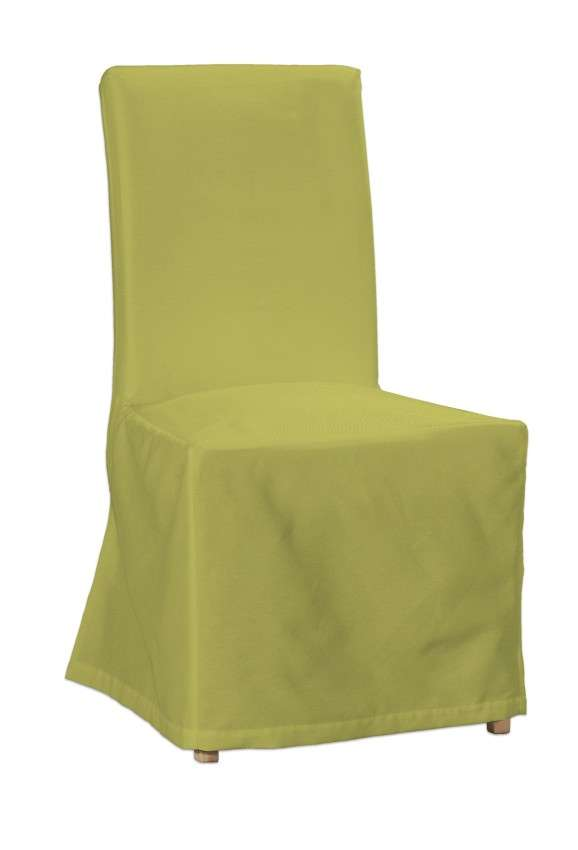 Floor length Henriksdal chair cover in collection Loneta , fabric: 133-23