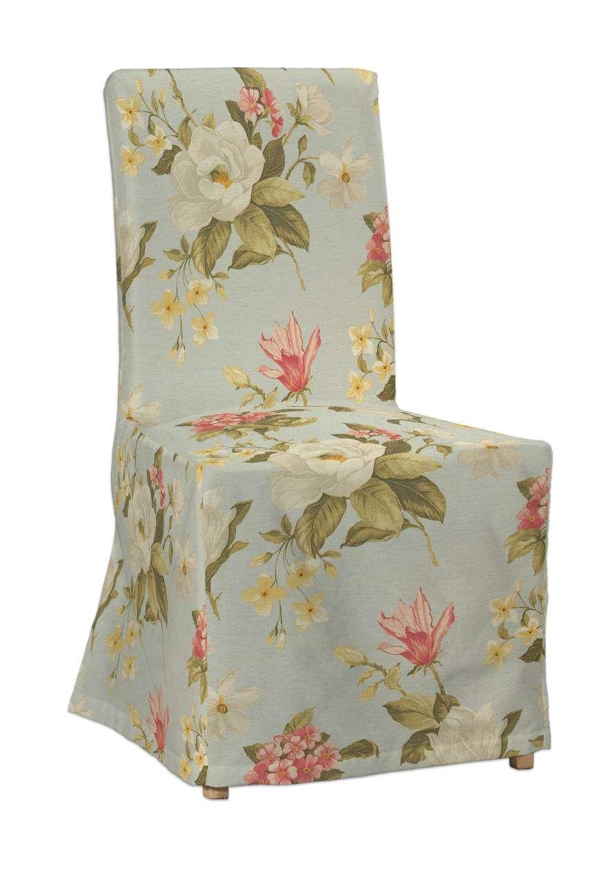 Sukienka na krzesło Henriksdal długa krzesło Henriksdal w kolekcji Londres, tkanina: 123-65