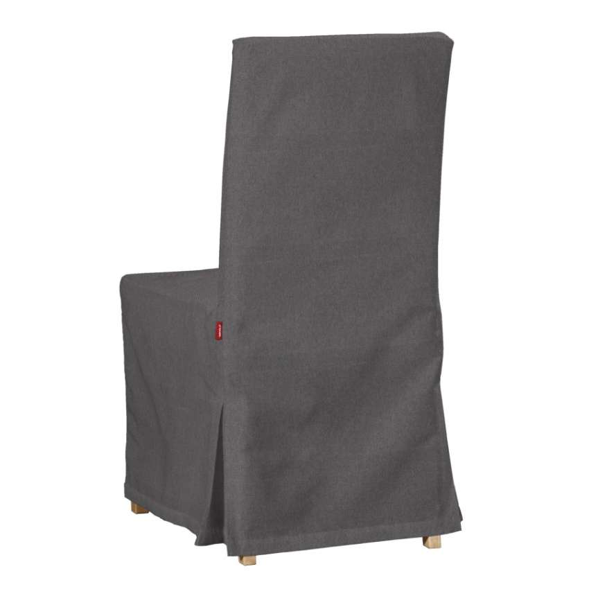 Floor Length Henriksdal Chair Cover Graphite 705 35