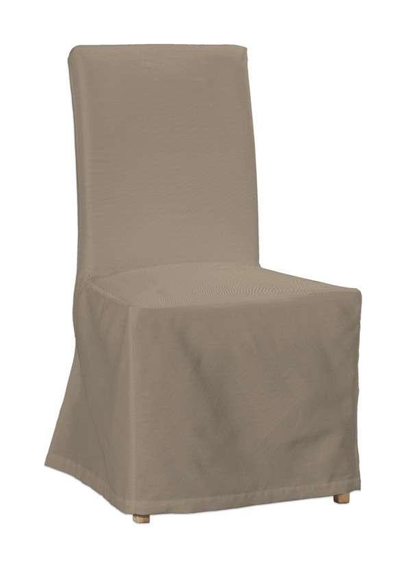 Henriksdal kėdės užvalkalas - ilgas Henriksdal kėdė kolekcijoje Cotton Panama, audinys: 702-28
