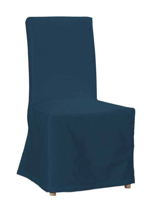 Sukienka na krzesło Henriksdal długa krzesło Henriksdal w kolekcji Cotton Panama, tkanina: 702-30
