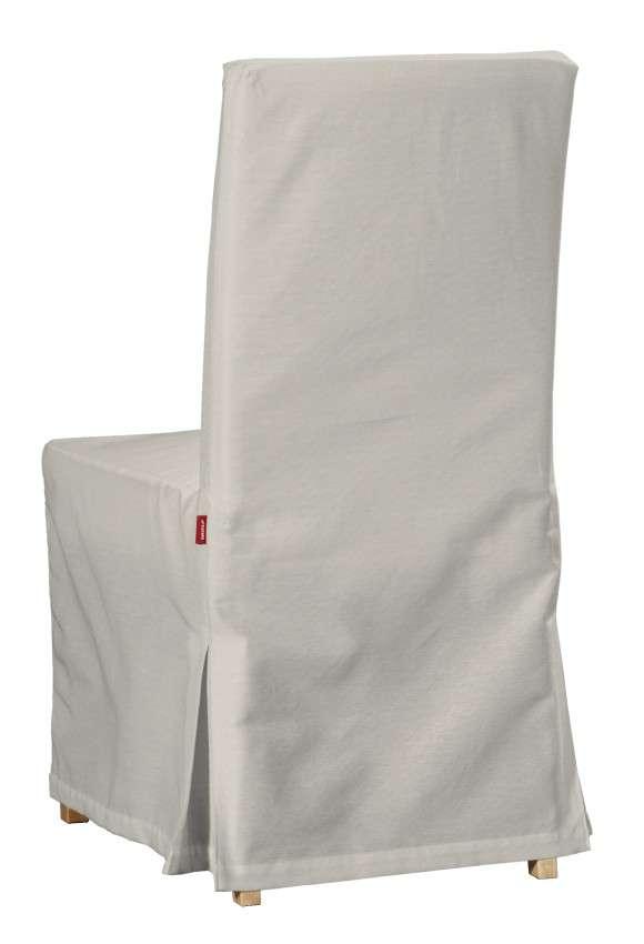 Sukienka na krzesło Henriksdal długa krzesło Henriksdal w kolekcji Cotton Panama, tkanina: 702-31