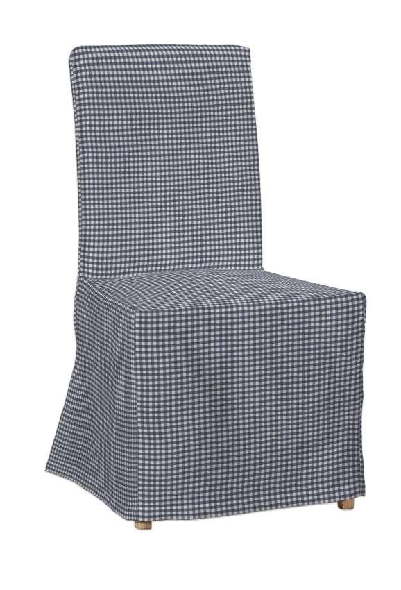 Návlek na stoličku Henriksdal (dlhý) V kolekcii Quadro, tkanina: 136-00