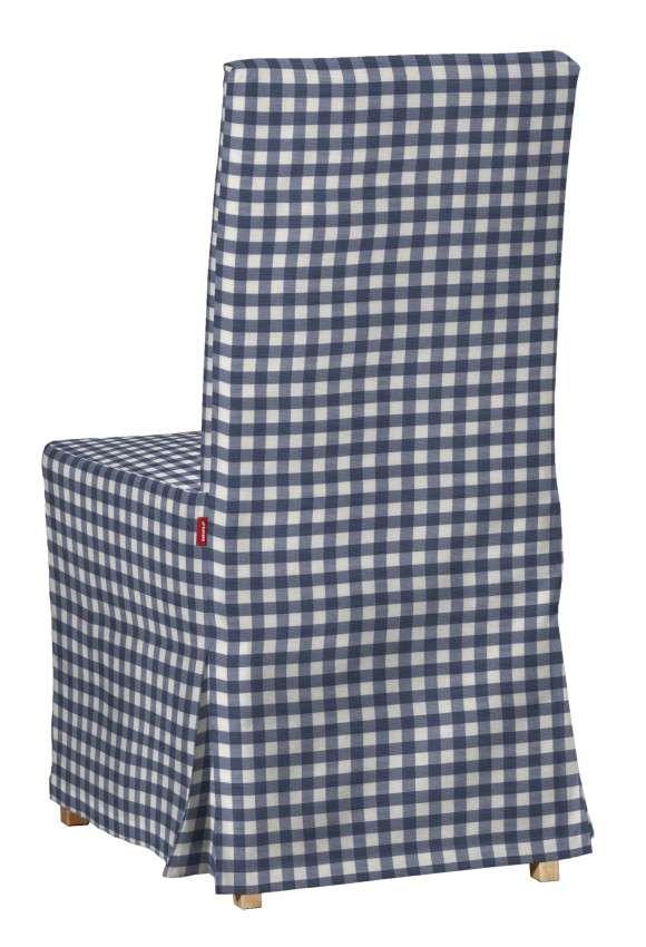 Návlek na stoličku Henriksdal (dlhý) V kolekcii Quadro, tkanina: 136-01