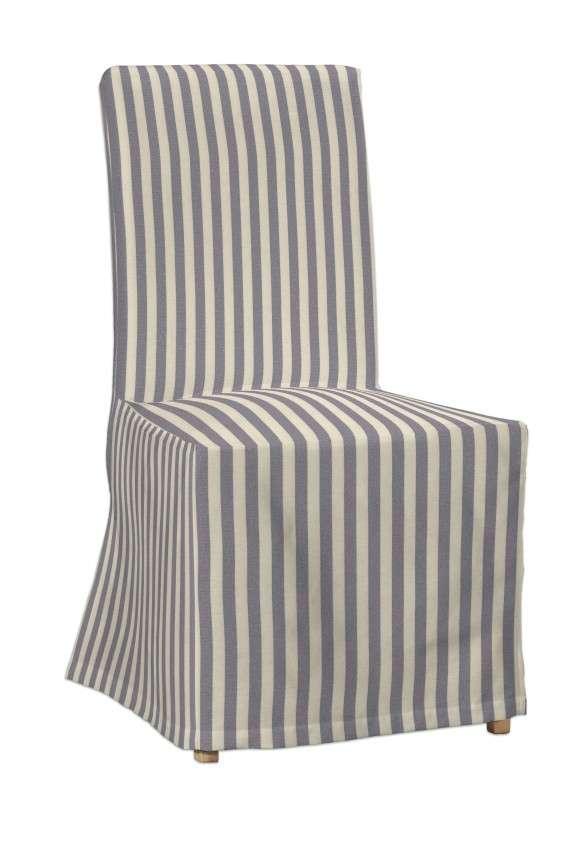 Návlek na stoličku Henriksdal (dlhý) V kolekcii Quadro, tkanina: 136-02