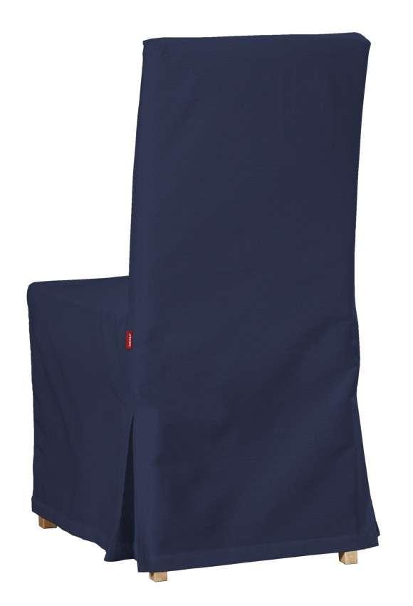 Návlek na stoličku Henriksdal (dlhý) V kolekcii Quadro, tkanina: 136-04