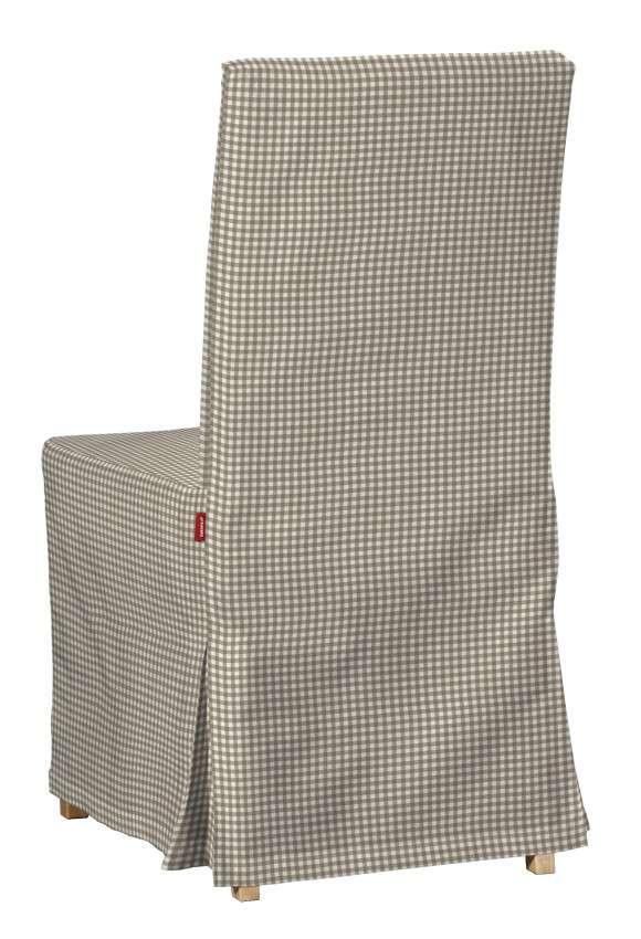 Sukienka na krzesło Henriksdal długa krzesło Henriksdal w kolekcji Quadro, tkanina: 136-05
