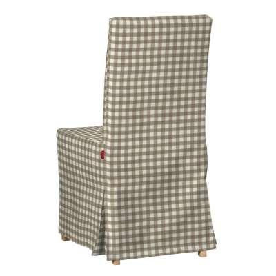 Návlek na stoličku Henriksdal (dlhý) V kolekcii Quadro, tkanina: 136-06