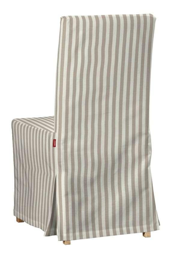 Návlek na stoličku Henriksdal (dlhý) V kolekcii Quadro, tkanina: 136-07