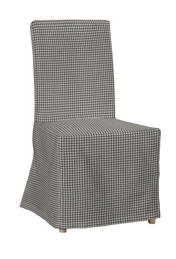Návlek na stoličku Henriksdal (dlhý) V kolekcii Quadro, tkanina: 136-10