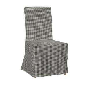 Sukienka na krzesło Henriksdal długa krzesło Henriksdal w kolekcji Quadro, tkanina: 136-10