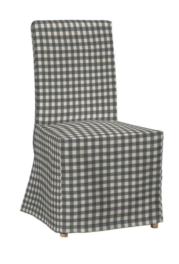 Henriksdal kėdės užvalkalas - ilgas Henriksdal kėdė kolekcijoje Quadro, audinys: 136-11