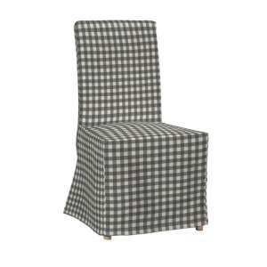 Sukienka na krzesło Henriksdal długa krzesło Henriksdal w kolekcji Quadro, tkanina: 136-11