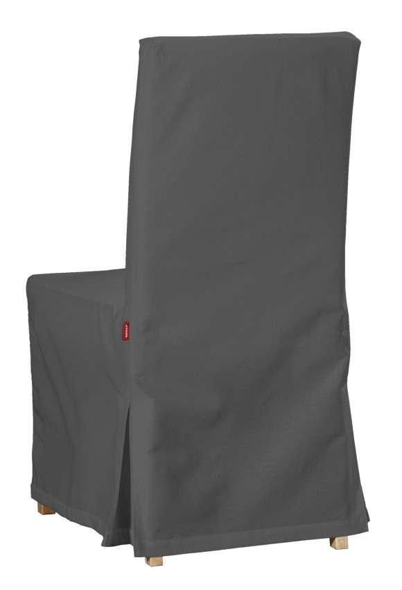 Návlek na stoličku Henriksdal (dlhý) V kolekcii Quadro, tkanina: 136-14
