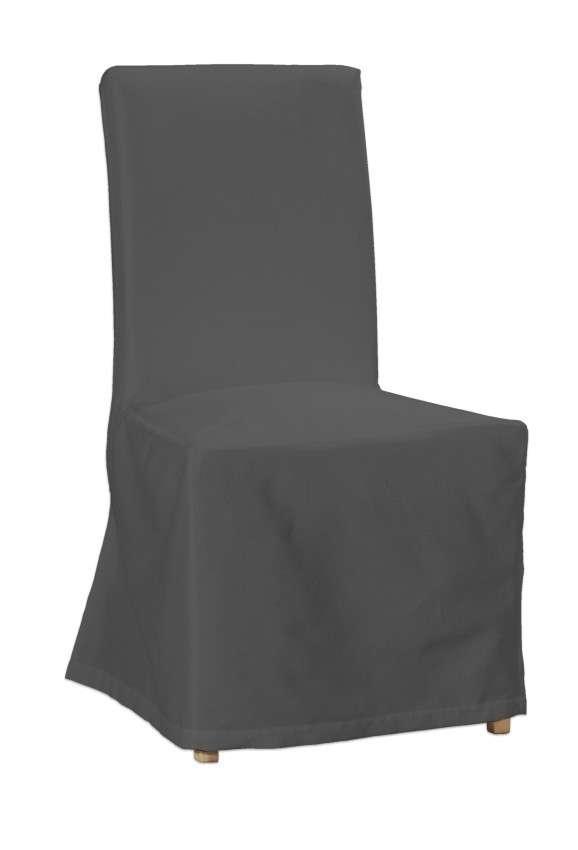 Sukienka na krzesło Henriksdal długa krzesło Henriksdal w kolekcji Quadro, tkanina: 136-14