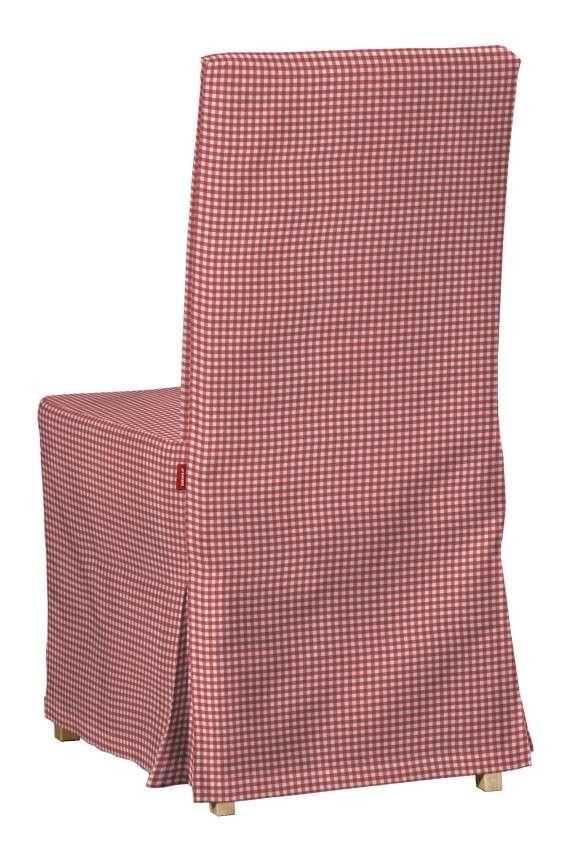 Návlek na stoličku Henriksdal (dlhý) V kolekcii Quadro, tkanina: 136-15