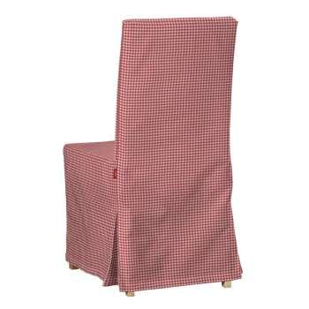 Sukienka na krzesło Henriksdal długa krzesło Henriksdal w kolekcji Quadro, tkanina: 136-15