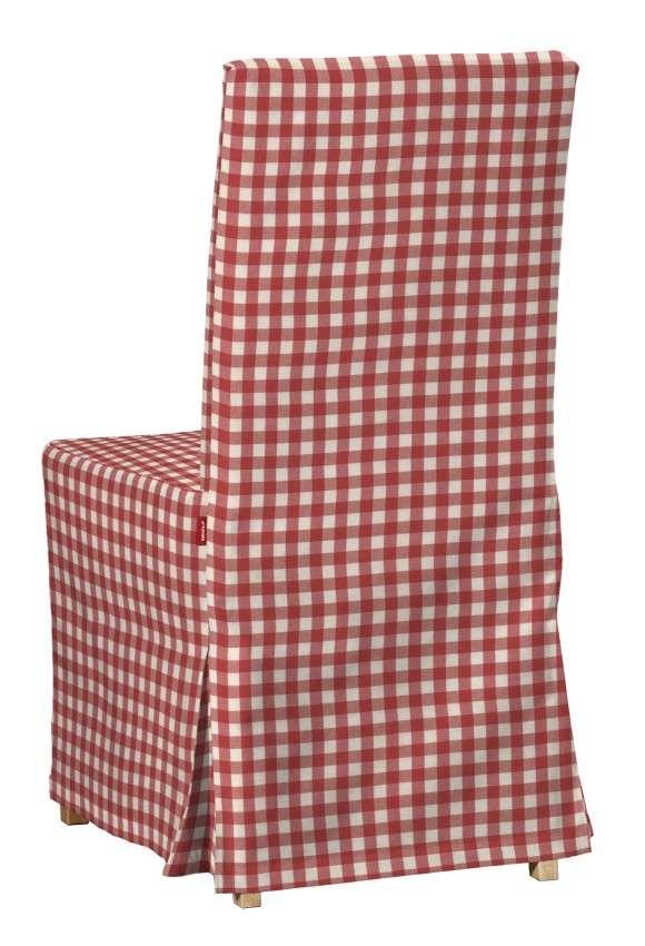 Návlek na stoličku Henriksdal (dlhý) V kolekcii Quadro, tkanina: 136-16