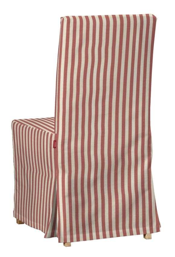 Sukienka na krzesło Henriksdal długa krzesło Henriksdal w kolekcji Quadro, tkanina: 136-17