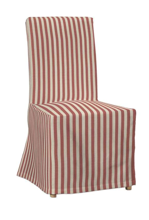 Návlek na stoličku Henriksdal (dlhý) V kolekcii Quadro, tkanina: 136-17