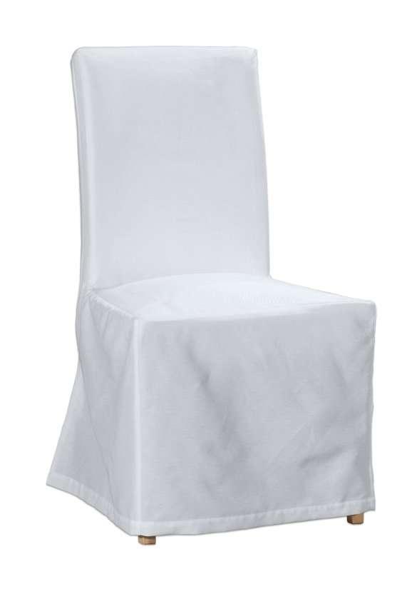 Sukienka na krzesło Henriksdal długa krzesło Henriksdal w kolekcji Cotton Panama, tkanina: 702-34