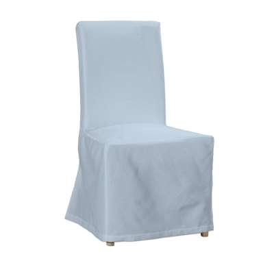 Sukienka na krzesło Henriksdal długa 133-35 pastelowy niebieski Kolekcja Loneta