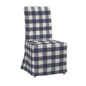 Sukienka na krzesło Henriksdal długa krzesło Henriksdal w kolekcji Quadro, tkanina: 136-03