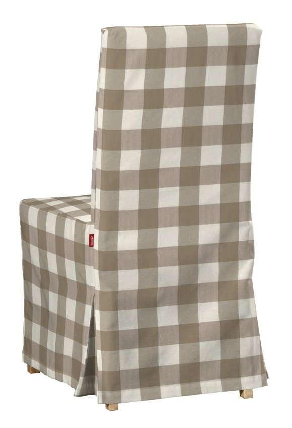 Návlek na stoličku Henriksdal (dlhý) V kolekcii Quadro, tkanina: 136-08
