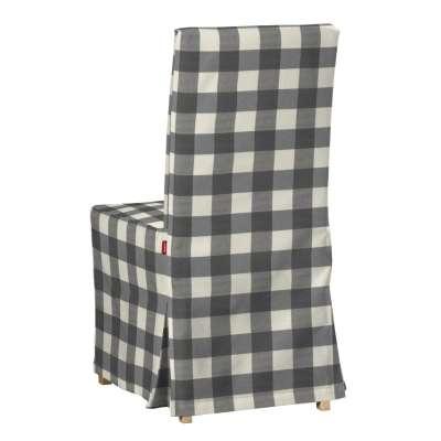 Návlek na stoličku Henriksdal (dlhý) V kolekcii Quadro, tkanina: 136-13