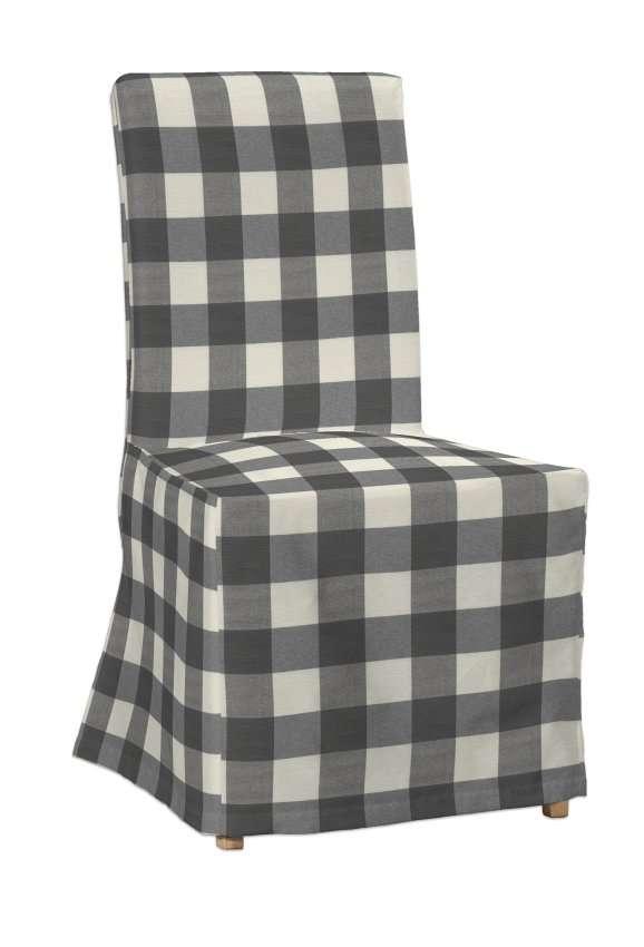 Sukienka na krzesło Henriksdal długa w kolekcji Quadro, tkanina: 136-13