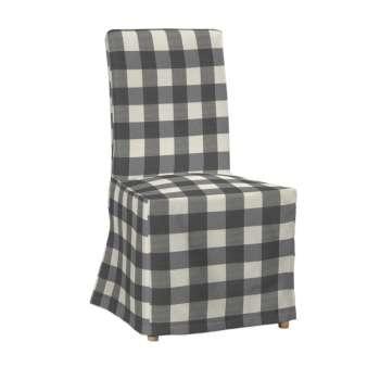 Sukienka na krzesło Henriksdal długa krzesło Henriksdal w kolekcji Quadro, tkanina: 136-13