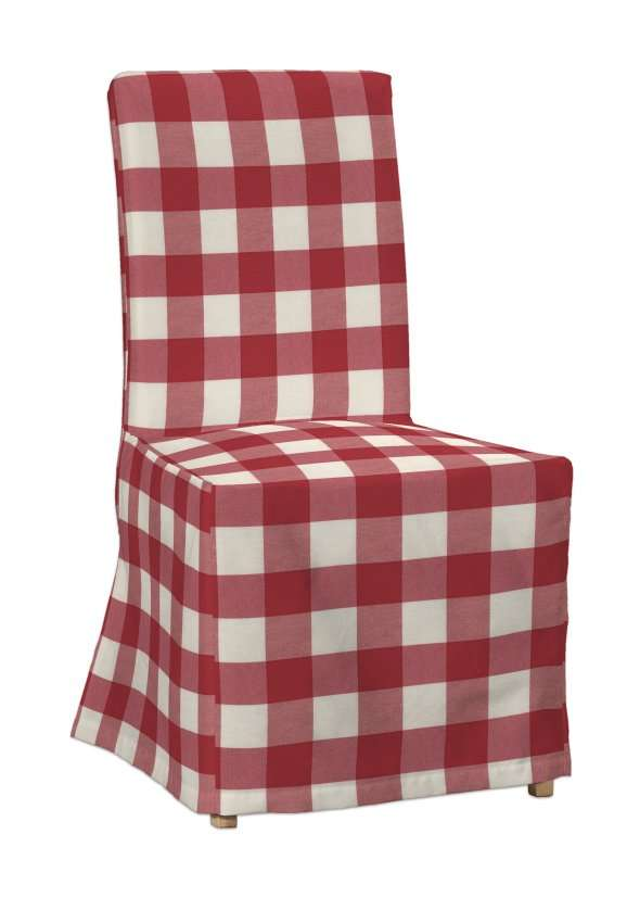 Potah na židli IKEA  Henriksdal, dlouhý židle Henriksdal v kolekci Quadro, látka: 136-18