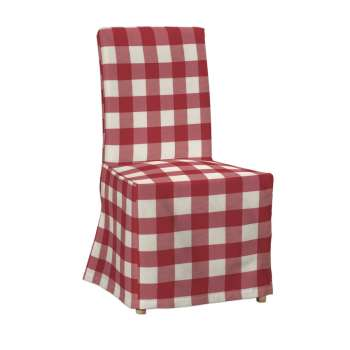 Sukienka na krzesło Henriksdal długa krzesło Henriksdal w kolekcji Quadro, tkanina: 136-18
