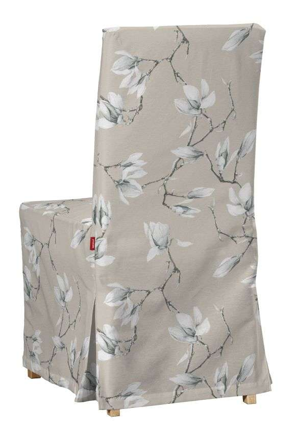 Sukienka na krzesło Henriksdal długa krzesło Henriksdal w kolekcji Flowers, tkanina: 311-12